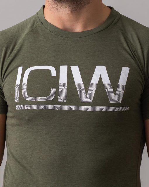 Army-Green-Split-Print-t-shirt-4