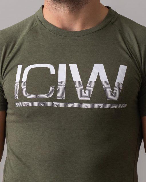 Army-Green-Split-Print-t-shirt-4