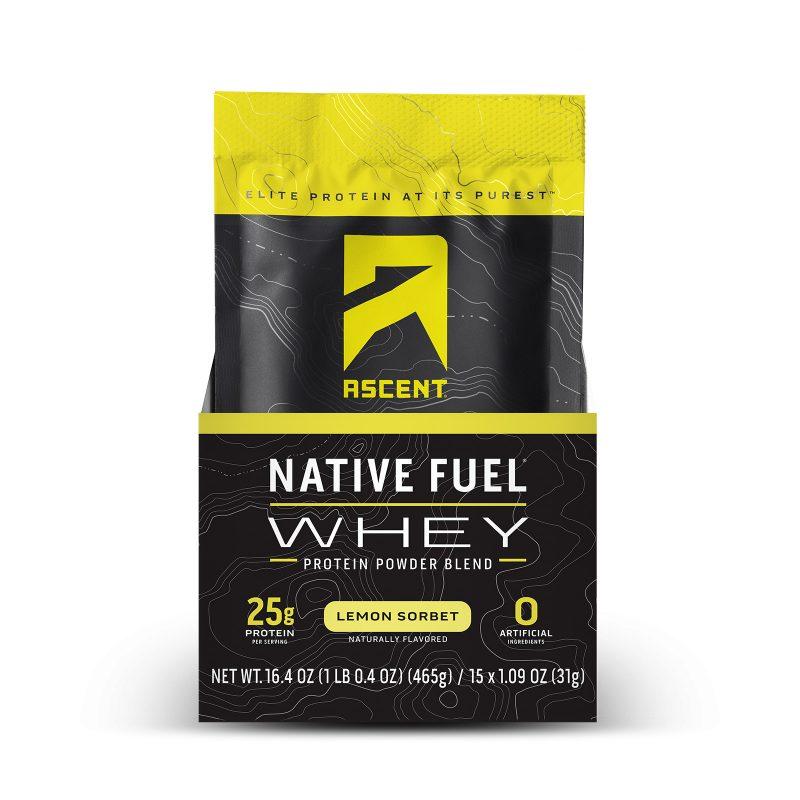 ascent protein lemon