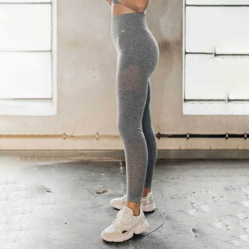 grey melange boost tights 1×1